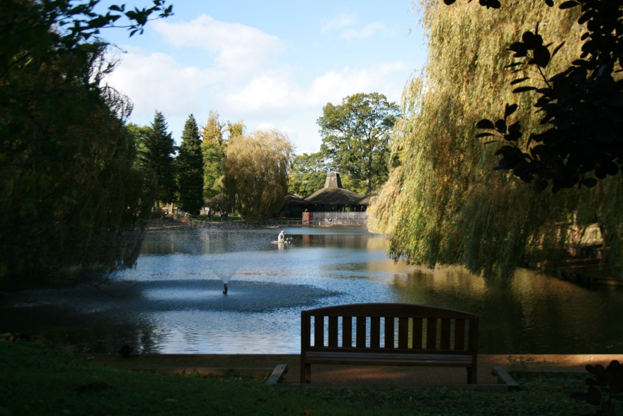 Beale Park near Pangbourne in Autumn