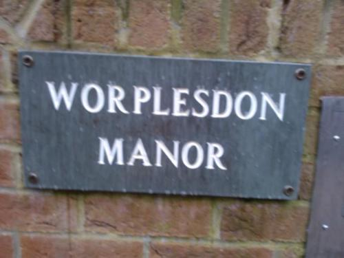 And in nearby Worplesdon..