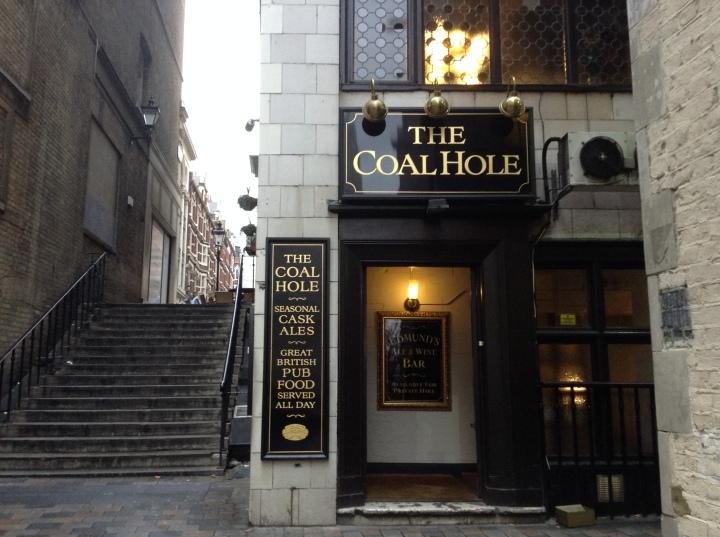 Coal Hole and steps