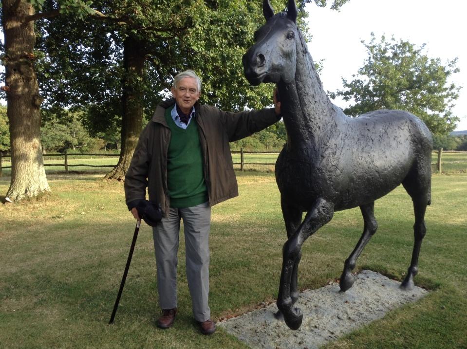 Edward and horse by Elizabeth Frink.JPG