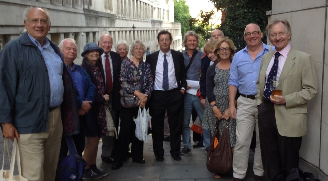 Society Spice: Wodehouse fans gather in London, Washington and Amsterdam