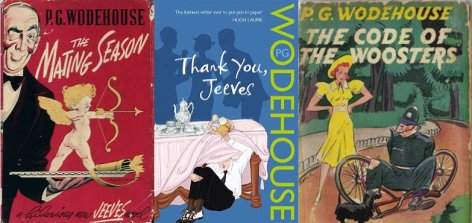 3 PG Wodehouse covers
