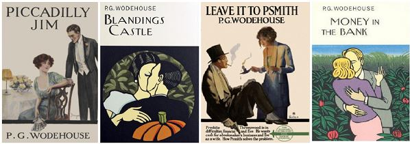 Top 50 P.G Wodehouse romances (voted by readers)