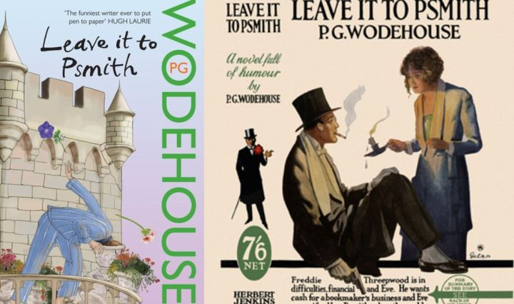 Leave it to Psmith dustjacket collage